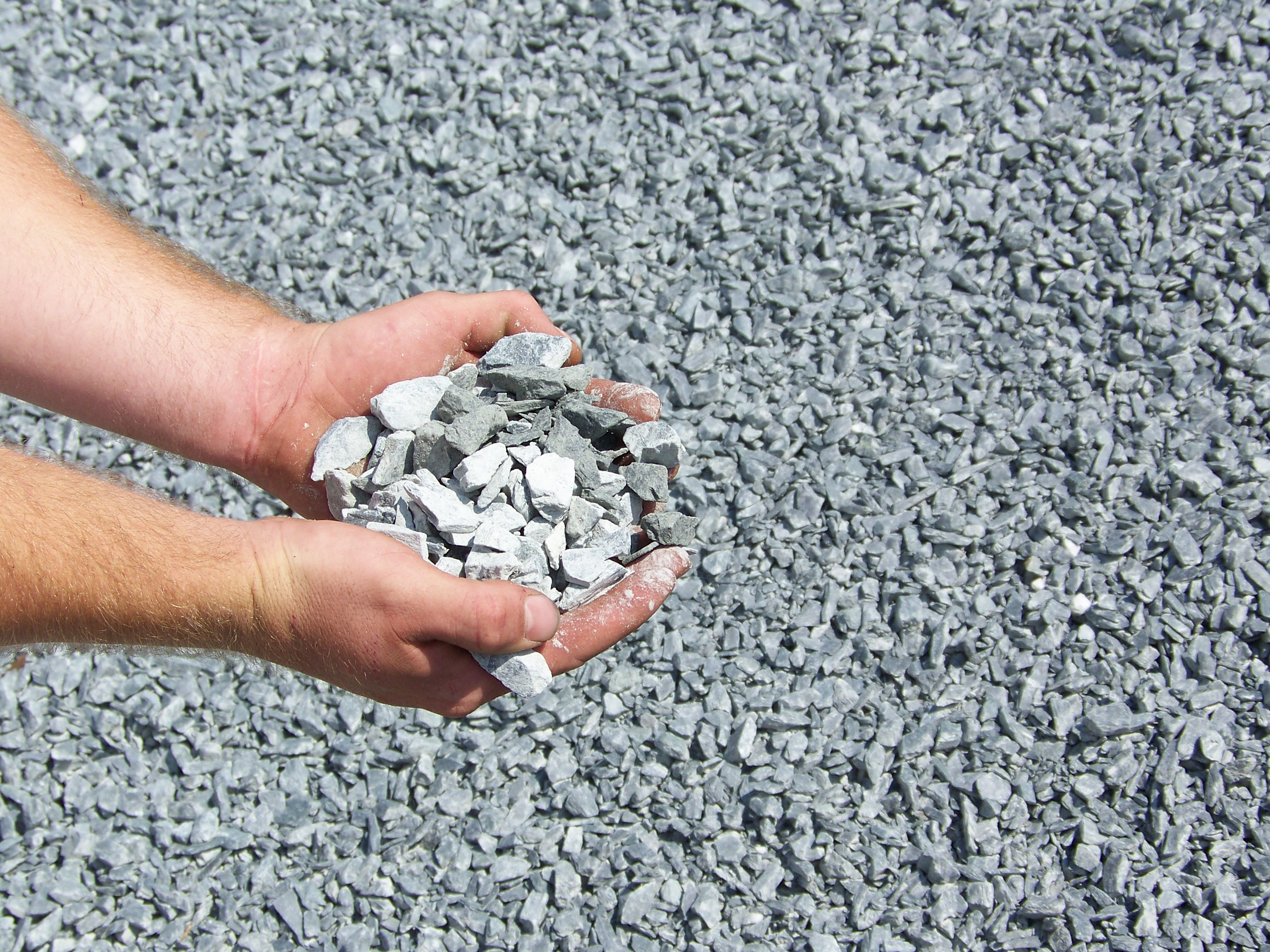 Aggregates for Crushed oyster shells for landscaping